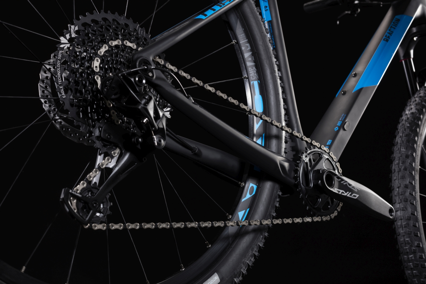e44fbb53b5b For the 2019 CUBE Reaction C:62 Pro we began with our light, responsive and  agile carbon frameset. Then we added some of the best value, best  performing ...